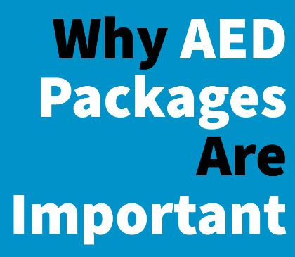 The importance of AED packages