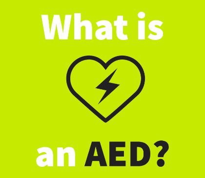 What is an AED and how does it work?