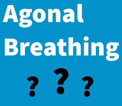 How to treat agonal breathing