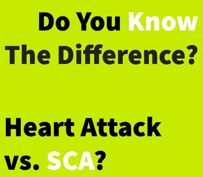 Symptoms of a heart attack and sudden cardiac arrest
