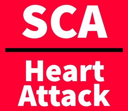 A heart attack is not the same thing as sudden cardiac arrest
