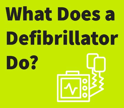 Understanding how a defibrillator works