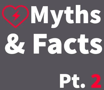 Myths and facts about AEDs