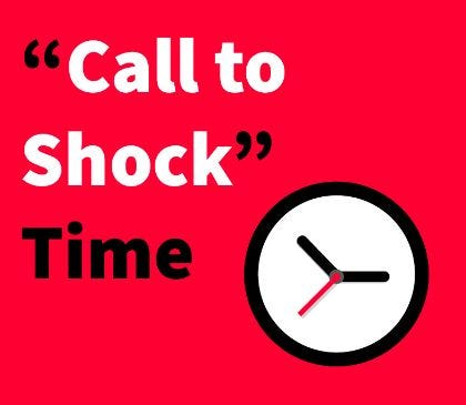 """Call to Shock"" time"