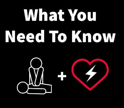 Important facts to know about CPR and AEDs