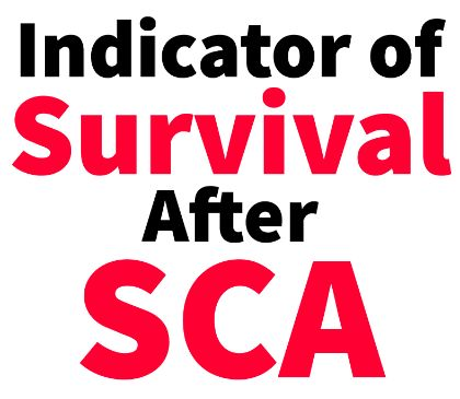 Signs of survival after cardiac arrest