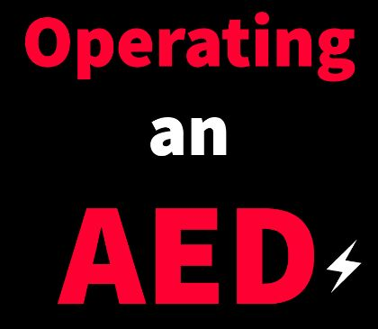 Can anyone operate an AED?