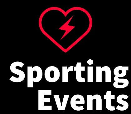 Sporting events and AEDs