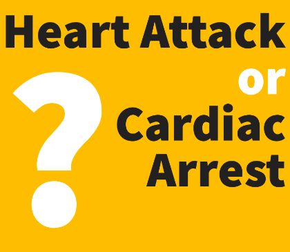 Heart attack and cardiac arrest facts
