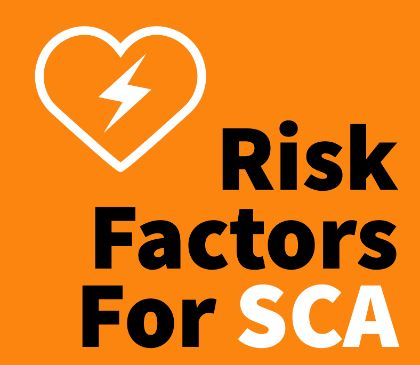 What puts you at risk for sudden cardiac arrest?