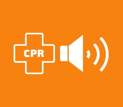 How does an AED with CPR feedback work?