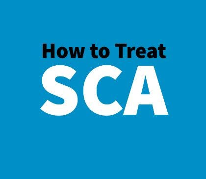What is the best way to treat SCA?