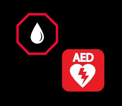 Should I purchase a bleeding control kit with my AED?