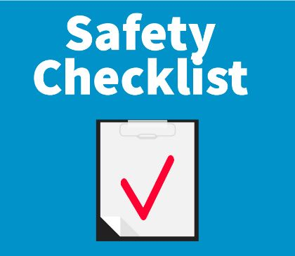 End-of-year AED and First Aid Safety Checklist