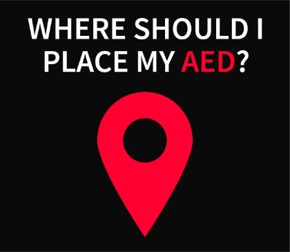 Where should I put my AED?