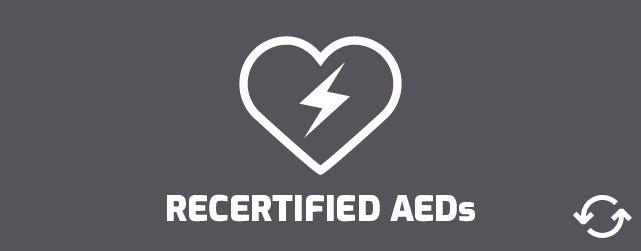 Recertified AEDs