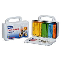 10-person plastic first aid kit