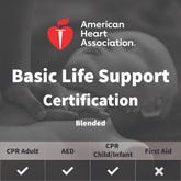 AHA BLS Certification for Healthcare Providers - Blended/Online