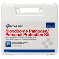 Bloodborne pathogen PPE Kit by First Aid Only