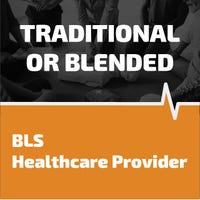 BLS healthcare provider training and certification
