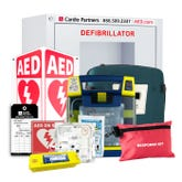 School AED Package from Cardio Partners with Cardiac Science Powerheart G3 AED