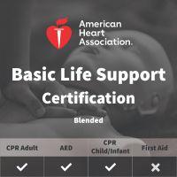 AHA BLS Certification for Healthcare Providers - Blended/Online
