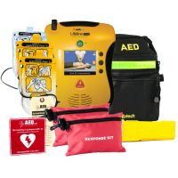 Defibtech Lifeline View AED First Responder Package