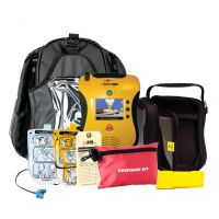 Defibtech Lifeline View Portable AED Package (Recertified)