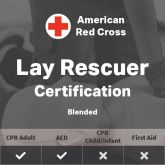 Adult CPR/AED Certification (Blended) - American Red Cross