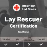 Adult First Aid/CPR/AED Certification - American Red Cross