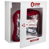 Stop the Bleed multi pack and cabinet