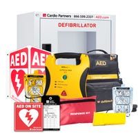 school aed package with child pads