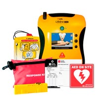 Lifeline View AED Package Contents