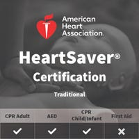 Adult, Child, Infant CPR/AED Certification - American Heart Association