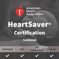 Adult, Child, Infant First Aid/CPR/AED Certification - American Heart Association