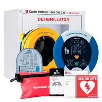 HeartSine Samaritan 350P AED & Cabinet Bundle