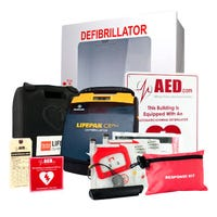 LifePak CR Plus Healthcare AED Package