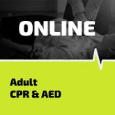 online training for adult CPR and AEDs
