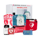 AED package for businesses, contains Philips Onsite AED