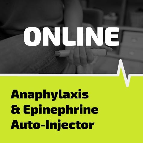 Anaphylaxis & Epinephrine Auto-Injector Online Training