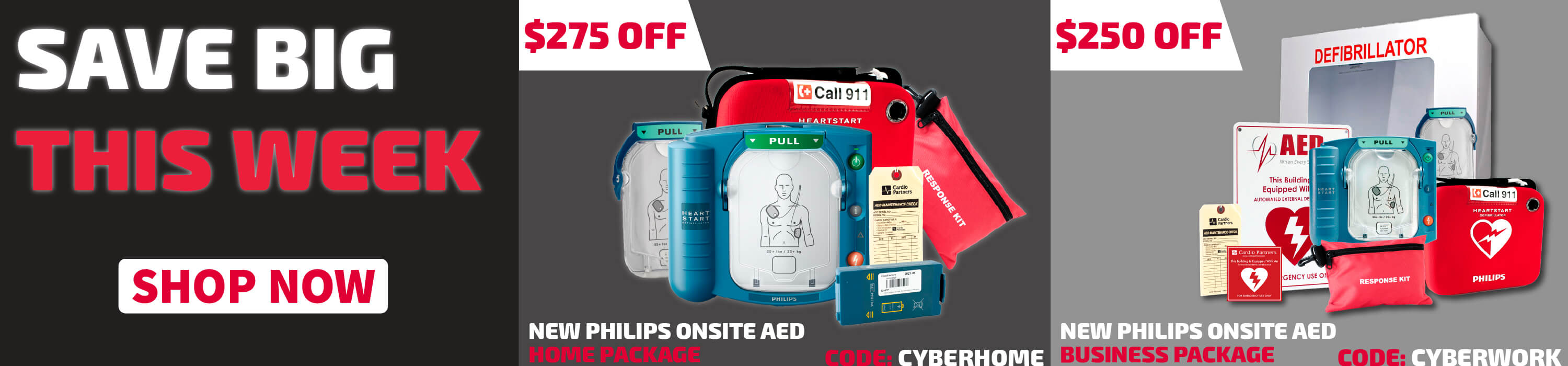 aed deals cyber week