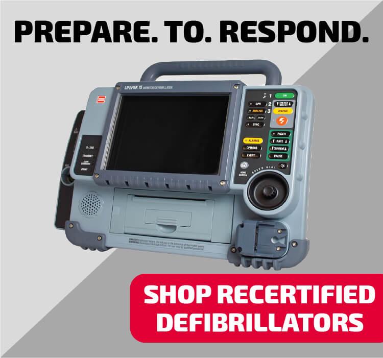 refurbished defibrillator
