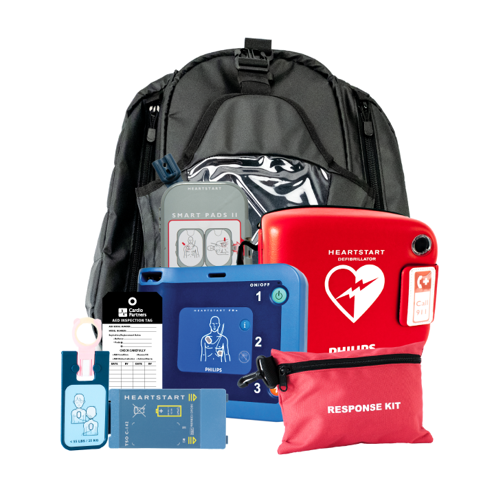 HeartStart FRx Portable AED package