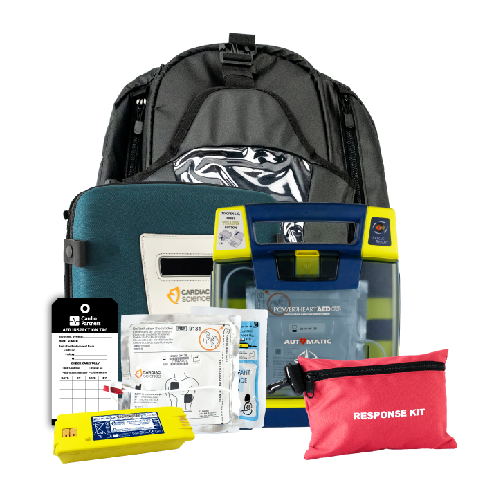 Cardiac Science Powerheart G3 Plus Portable AED Package (Recertified)