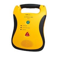 YELLOW AED WITH HANDLE