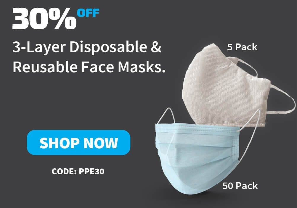 discounted face masks