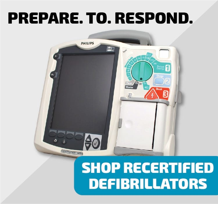 refurbished defibrillator