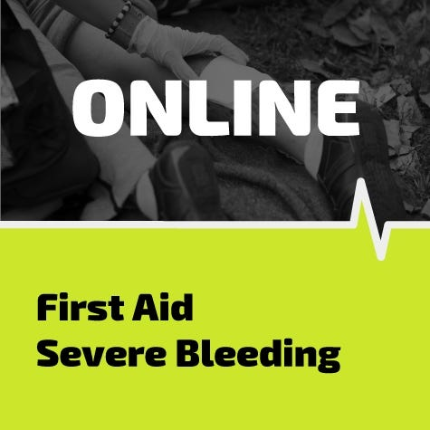 First Aid for Severe Bleeding Online Training