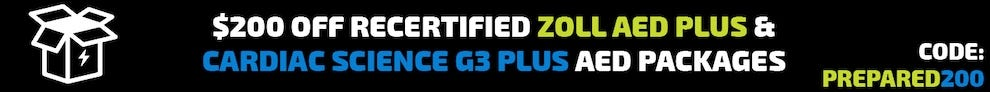$200 off recertified aed packages